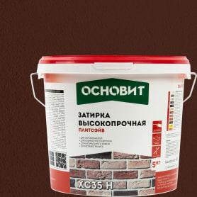 Затирка цементная Основит Плитсейв 5 кг цвет медный