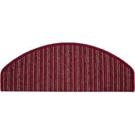 Коврик для ступеней «Praga Step» 24x65 см полипропилен цвет красный