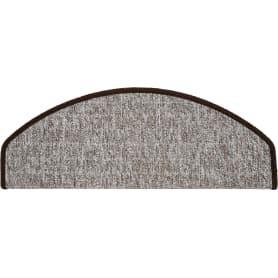 Коврик для ступеней «Belgra Step» 24x65 см полипропилен цвет коричневый