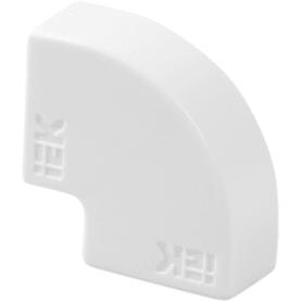 Угол 90 градусов IEK КМП 15/10 мм цвет белый 4 шт.