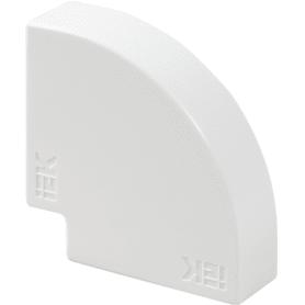 Угол 90 градусов IEK КМП 40/16 мм цвет белый 4 шт.