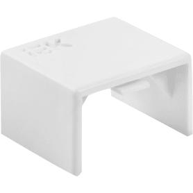 Соединение на стык IEK КМС 15/10 мм цвет белый 4 шт.