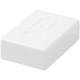 Заглушка IEK КМЗ 25/16 мм цвет белый 4 шт.
