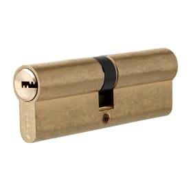 Цилиндр Apecs SM-70-G, 35x35 мм, ключ/ключ, цвет золото