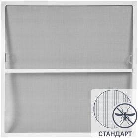 Москитная сетка белая 80x84 см к окну ПВХ 90x90 см