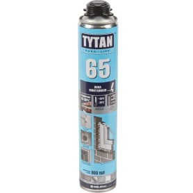 Пена монтажная пистолетная Tytan 65 860 мл