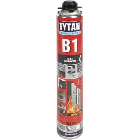 Пена монтажная пистолетная Tytan B1 огнеупорная 750 мл