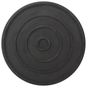 Полимерпесчаное днище колодца Ø1100x140 мм цвет чёрный