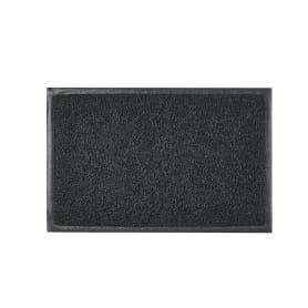 Коврик Vinyl Diamond 40x60 см, ПВХ на виниле, цвет чёрный