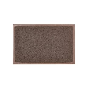 Коврик Vinyl Diamond 40x60 см, ПВХ на виниле, цвет коричневый