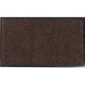 Коврик Gabriel 45x75 см, полипропилен на ПВХ, цвет коричневый