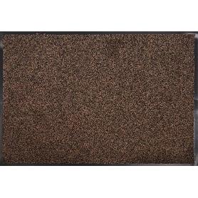 Коврик Gabriel 60x90 см, полипропилен на ПВХ, цвет коричневый