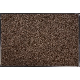 Коврик Gabriel 90x120 см, полиамид на ПВХ, цвет коричневый