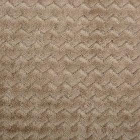 Плед «Велсофт», 150x200 см, полиэстер, цвет бежевый
