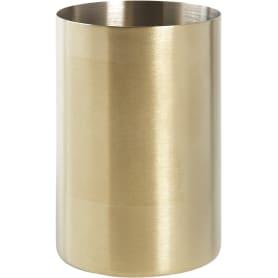 Стакан для зубных щёток «Arezza» нержавеющая сталь цвет золотой