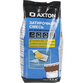 Затирка цементная Axton А.420 цвет красно-коричневый 2 кг