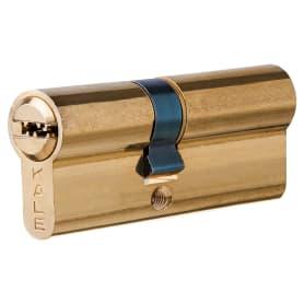 Цилиндр Kale 164SN-80-BP, ключ/ключ, цвет золото