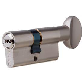 Цилиндр Kale 164SM-62-C-NI, 26х26 мм, ключ/вертушка, цвет никель