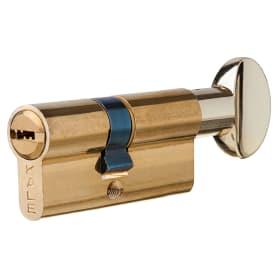 Цилиндр Kale 164BM-68-C-BP, 26х32 мм, ключ/вертушка, цвет золото