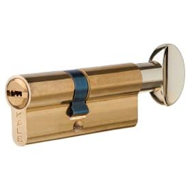 Цилиндр Kale 164BM-80-C-BP, 30х40 мм, ключ/вертушка, цвет золото