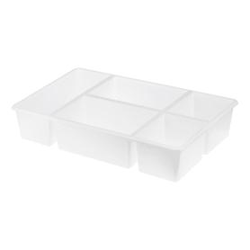 Лоток для ящика 38х24х7 см цвет белый