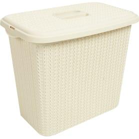 Корзинка для хранения «Вязание», 6 л, цвет слоновая кость
