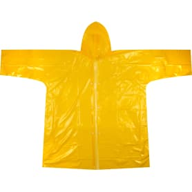 Плащ-дождевик взрослый, цвет желтый
