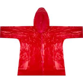 Плащ-дождевик детский, цвет красный