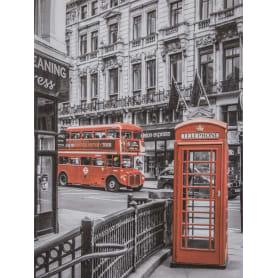 Картина на холсте «Лондон. Будка» 30х40 см