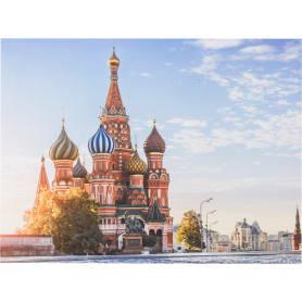Картина на холсте «Храм Василия Блаженного» 30х40 см