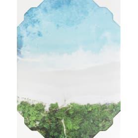 Картина на холсте «Лазурный пляж» 30х40 см