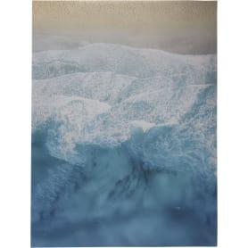 Картина на холсте «Пляж и волны» 30х40 см