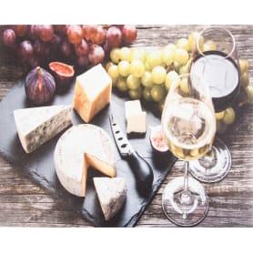 Картина на холсте «Сыр и вино» 40х50 см