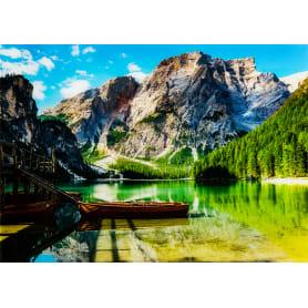Картина на стекле «Озеро Брайес» 50x70 см