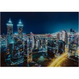 Картина на стекле «Ночной Дубай» 50х70 см