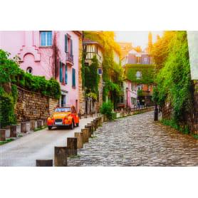 Картина на стекле «Красивая улочка» 50x70 см