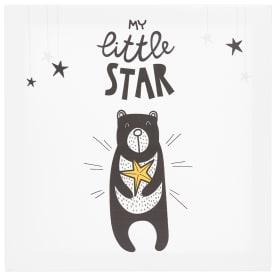 Картина на холсте «Маленькая звезда» 30x30 см