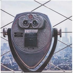 Картина на холсте «Бинокль» 30x30 см