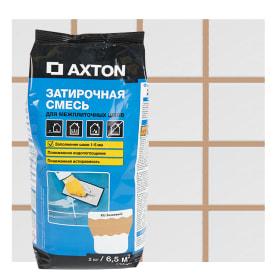 Затирка цементная Axton А.300 2 кг цвет бежевый