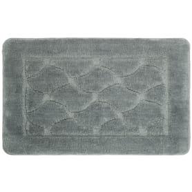 Коврик для ванной комнаты Link 50x80 см цвет серый