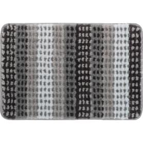 Коврик для ванной комнаты Point 40x60 см цвет серый