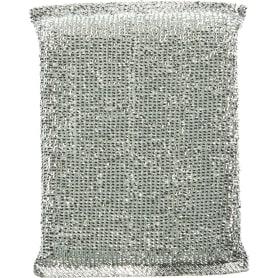 Губка для посуды Home Queen с металлизированной нитью 12х9 см