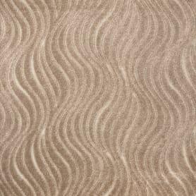 Ковровое покрытие «Волна» 1 м цвет бежевый