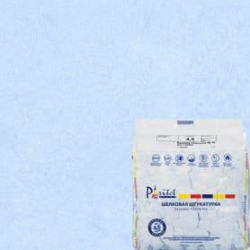Жидкие обои Шёлк 16 0.9 кг цвет голубой