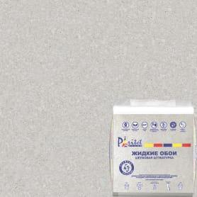 Жидкие обои Текстурное покрытие 19 1 кг цвет светло-серый