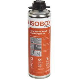 Пена монтажная пистолетная Isobox Profi 30 450мл