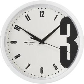 Часы настенные «Тройка» 23.1 см