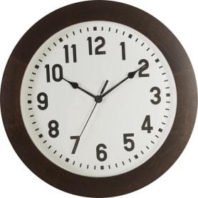Часы настенные «Дерево венге» 30.3 см