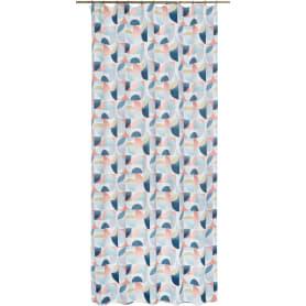 Штора на ленте «Кассандр» 145х260 см цвет голубой