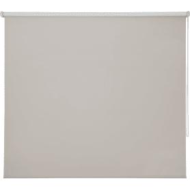 Штора рулонная Inspire блэкаут 140x175 см цвет кремовый